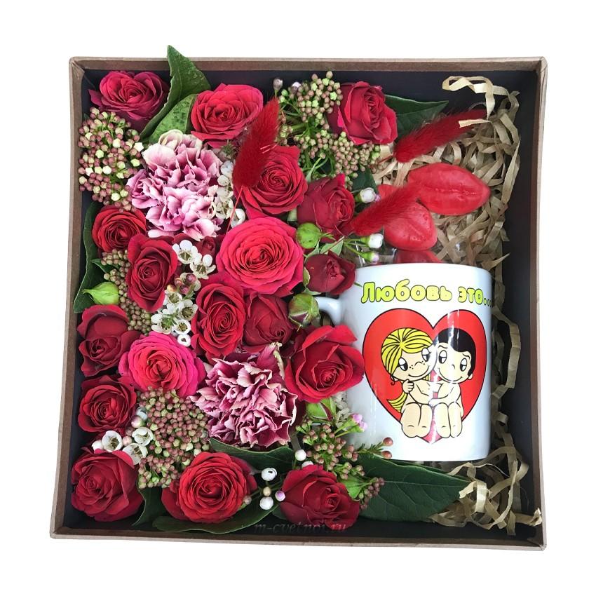 "Подарочная коробка ""Love is.."""