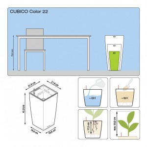 CUBICO Color All-in-One Set